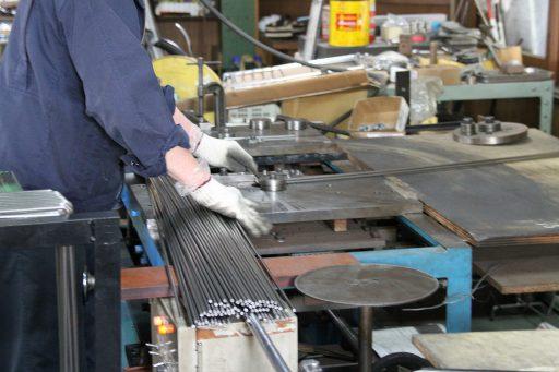 棒材の曲げ加工